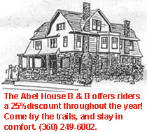 Abel House B & B offers discounts to riders